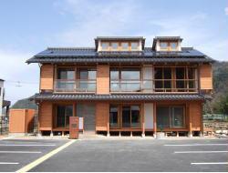 豊岡市21世紀環境共生型モデル住宅「豊岡市エコハウス」外観