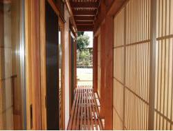 豊岡市21世紀環境共生型モデル住宅「豊岡市エコハウス」内装